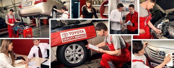 Замена масла в авторизованном СЦ Toyota Camry