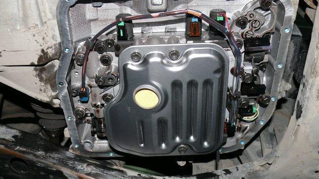 Замена масла в коробке Тойота Камри