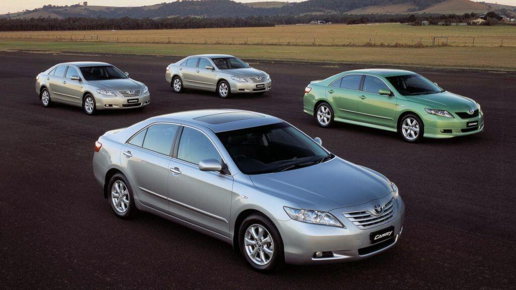 Toyota Camry самая продавая машина в России
