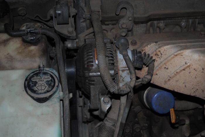 Как правильно снять генератор на Камри с мотором 3,5 литра
