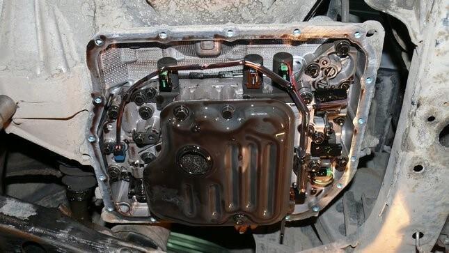 Вид АКПП на Тойоте Камри v40