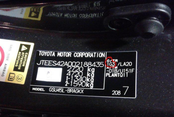 Тойота камри красный цвет