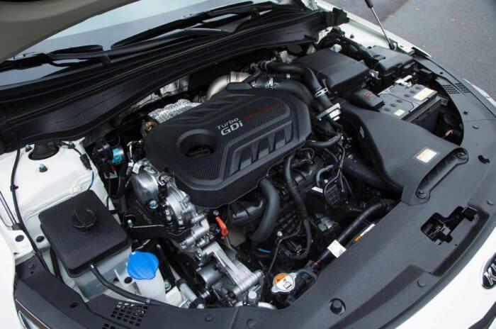 Двигатель и мощность Киа Оптима 2017 года